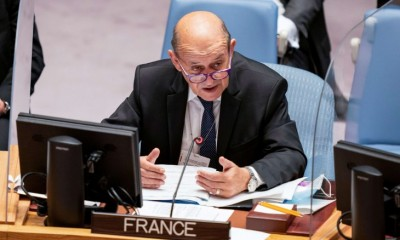 وزير-الخارجية-الفرنسي-يجري-محادثات-مع-الرئيس-العراقي