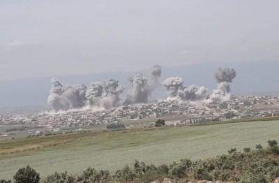 هجوم-مضاد-للجيش-الحر-وتحرير-الشام-بحماة-وتحقيق-تقدم