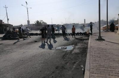 احتجاجات-بالعراق-وغلق-طرق-بسببب-أزمة-الكهرباء