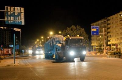 تعزيزات-عسكرية-تركية-جديدة-إلى-الحدود-مع-سوريا
