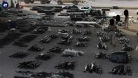 كانت-في-طريقها-لليمن-بومبيو-ينشر-صورة-للأسلحة-الإيرانية-المضبوطة