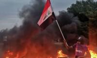 إصابة-أكثر-من-60-عراقيا-في-مصادمات-بالناصرية