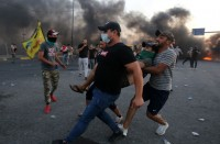 قمع-متظاهرين-ببغداد-وسرايا-السلام-تتوعد-الحكومة