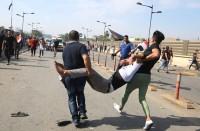 قتلى-وعشرات-الجرحى-مع-استئناف-العراقيين-تظاهراتهم