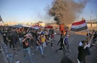 ارتفاع-حصيلة-ضحايا-احتجاجات-بالعراق..-وقطع-الإنترنت-مجددا