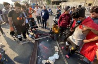 ارتفاع-حصيلة-القتلى-في-العراق-إلى-خمسة..-وشلل-مروري-ببغداد