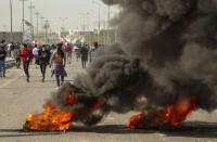 إصابة-7-محتجين-في-العراق-جراء-طعن-بالسكاكين-في-بغداد
