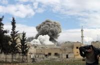 النظام-يقصف-الغوطة-الشرقية-بعد-إعلانه-وقف-إطلاق-النار