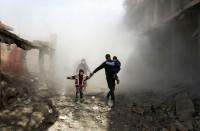 عشرات-القتلى-بينهم-أطفال-في-القصف-المتواصل-على-الغوطة