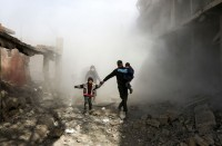 229-قتيلا-حصيلة-4-أيام-من-الغارات-على-الغوطة-ودعوات-لوقفها