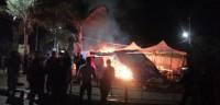 8-جرحى-وحرق-عدد-من-خيام-المعتصمين..هجوم-ليلي-مسلح-على-ساحة-التظاهرات-في-الحبوبي