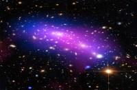 تلسكوب-هابل-يرصد-لحظة-تصادم-مجرتين