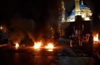 احتجاجات-مستمرة-بلبنان-ضد-الأوضاع-المعيشية-وتدهور-الليرة