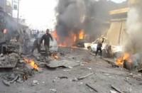 الطيران-الروسي-يقتل-8-مدنيين-في-قصف-سوق-شعبية-ببلدة-أريحا