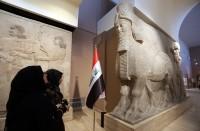 اكتشاف-ثور-مجنح-جديد-ونقوش-تاريخية-في-الموصل