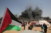 مسيرة-العودة-حاضرة-بقوة-في-غزة-والخارج-غائبون..