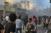 11-إصابة-في-تفجير-طرد-مفخخ-بالباب-السورية