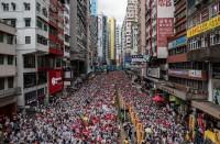 محتجو-هونغ-كونغ-يحتشدون-تأييدا-لأقلية-الإيغور-المسلمة