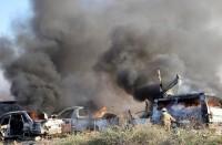 غارات-جوية-تستهدف-مقرات-لمجموعات-إيرانية-شرق-سوريا