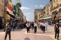 تشييع-هشام-الهاشمي-ببغداد-واحتجاجات-غاضبة-على-اغتياله