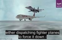 منظمة-حقوقية-تدين-تحريض-العربية-على-قصف-طائرة-قطرية