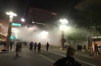 الشرطة-الأمريكية-تفض-مظاهرة-ضد-ترامب-برذاذ-الفلفل