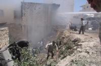 مقتل-13-مدنيا-بقصف-لقوات-النظام-في-إدلب-السورية