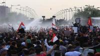 محتجون-يسيطرون-على-بناية-القناصة-فـي-بغداد-وفصائل-مسلحة-تنزل-إلى-الشارع